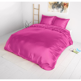 Sleeptime Beauty Skin Care Hot Pink Dekbedovertrek Silk Micropercal_
