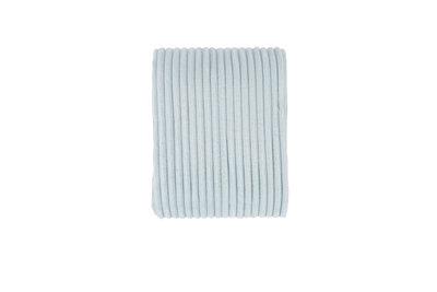 Rib Flanel Blanket Mint