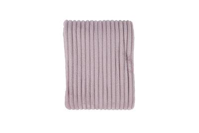 Rib Flanel Blanket Roze