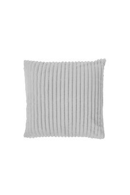 Rib Flanel Cushion Cover Licht Grijs