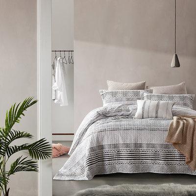 Bedsprei Elegant Stripe Grey