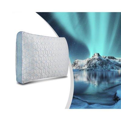 Swiss Night 4 Seizoens Ice cool Kussen - Kussen - Traagschuim - 70x40 - Wit