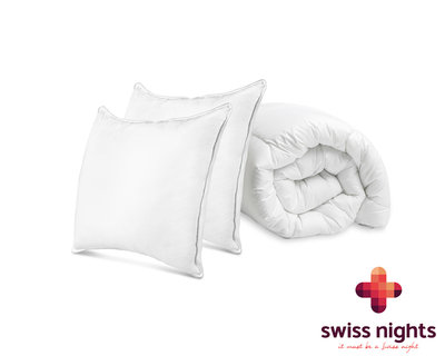 Swiss Night Pack Dekbed + Kussens