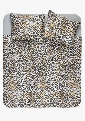 Ambianzz Leopard Skin Naturel Dekbedovertrek Katoen