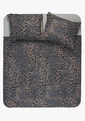 Ambianzz Leopard Skin Blauw Dekbedovertrek Katoen