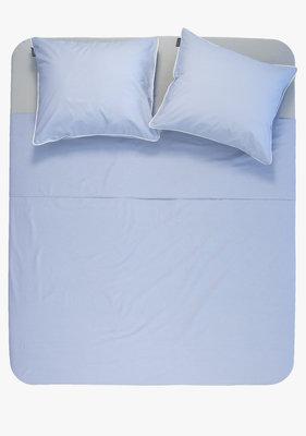 Ambianzz Cotton Solid Blauw Dekbedovertrek Katoen