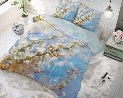 Dreamhouse Blossom Light Blue Dekbedovertrek Katoen
