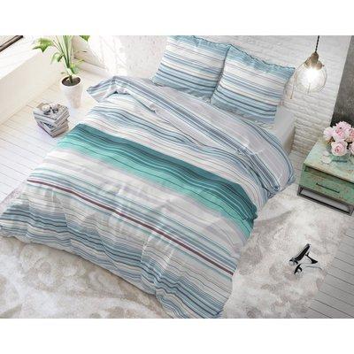 Sleeptime Carl Turquoise Dekbedovertrek Katoen Blended
