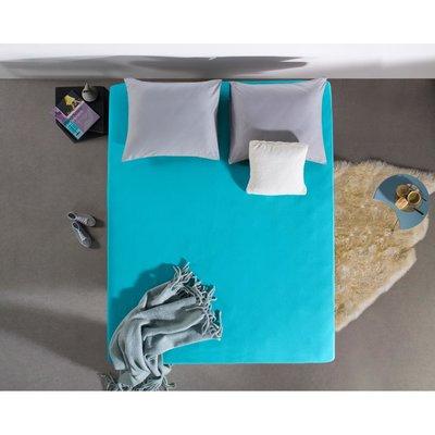Hoeslaken Jersey 135 gr. Turquoise