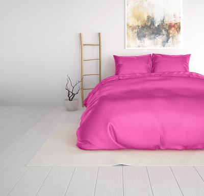 Sleeptime Beauty Skin Care Hot Pink Dekbedovertrek Silk Micropercal