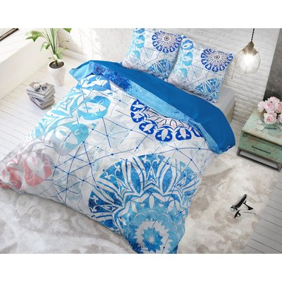 Dreamhouse Narco Blue dekbedovertrek Katoen