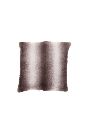 Faux Fur Cushion Cover Taupe