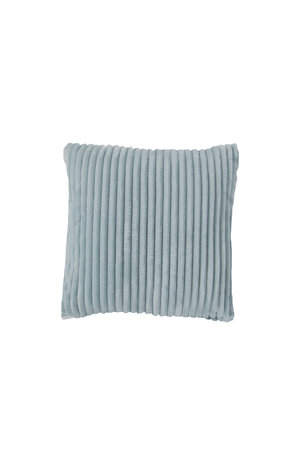 Rib Flanel Cushion Cover Mint