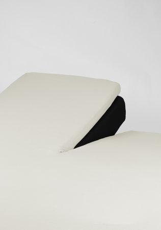 Hoeslaken Splittopper Jersey Off Wit 15 cm Hoekhoogte