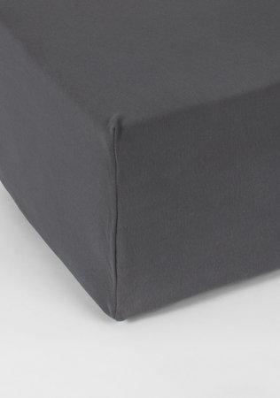 Hoeslaken Double Jersey Interlock Matras D Grijs 40 cm Hoekhoogte