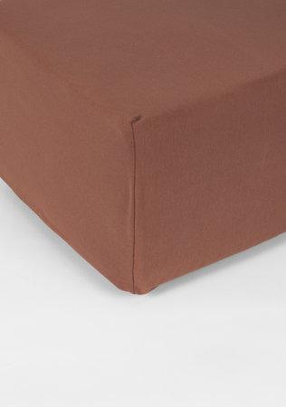 Hoeslaken Double Jersey Interlock Matras Koper 40 cm Hoekhoogte