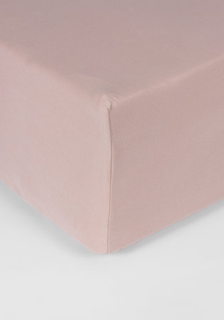 Hoeslaken Double Jersey Interlock Matras Roze 40 cm Hoekhoogte