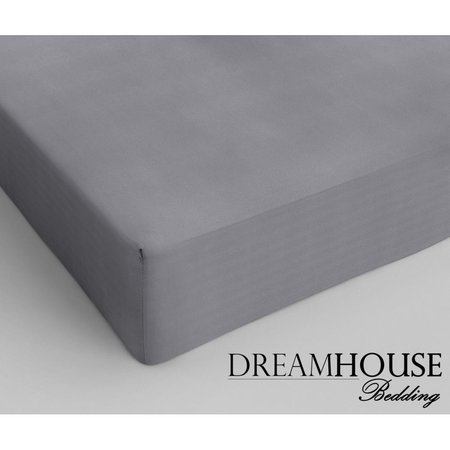 Dreamhouse Bedding Katoen Hoeslaken Grey