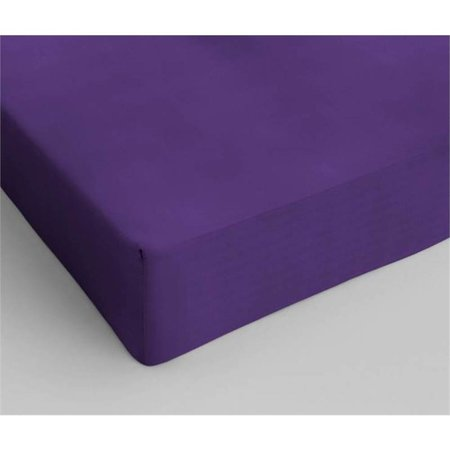 Dreamhouse Bedding Katoen Hoeslaken Purple