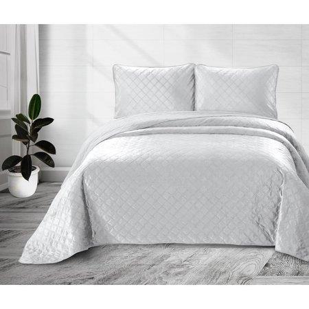 Velvet Classico White Bedsprei