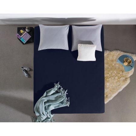 Hoeslaken Jersey 135 gr. Indigo Blue