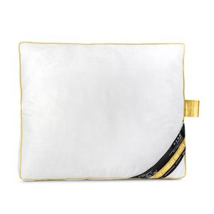 Sleeptime Deluxe Jacquard Pillow Gold Box Kussen - 50x60- Goud