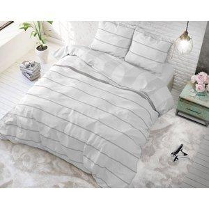 Sleeptime Amira White dekbedovertrek Katoen Blended