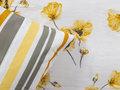 Ambianzz Poppy Flower Yellow Dekbedovertrek Katoen