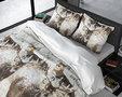 Dreamhouse Flanel Winter Deer Dekbedovertrek Grijs Flanel