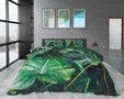 Dreamhouse Nature Vibes Green Dekbedovertrek Katoen satijn